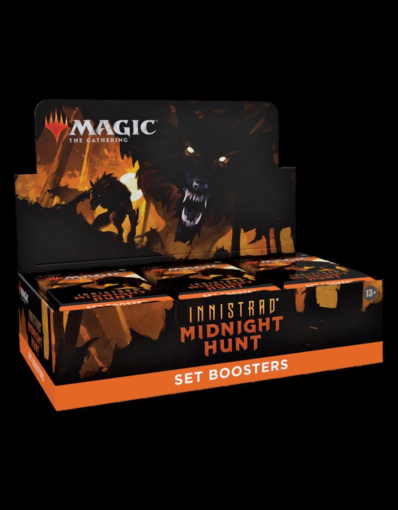 Magic The Gathering Innistrad: Midnight Hunt Set Booster Box MTG
