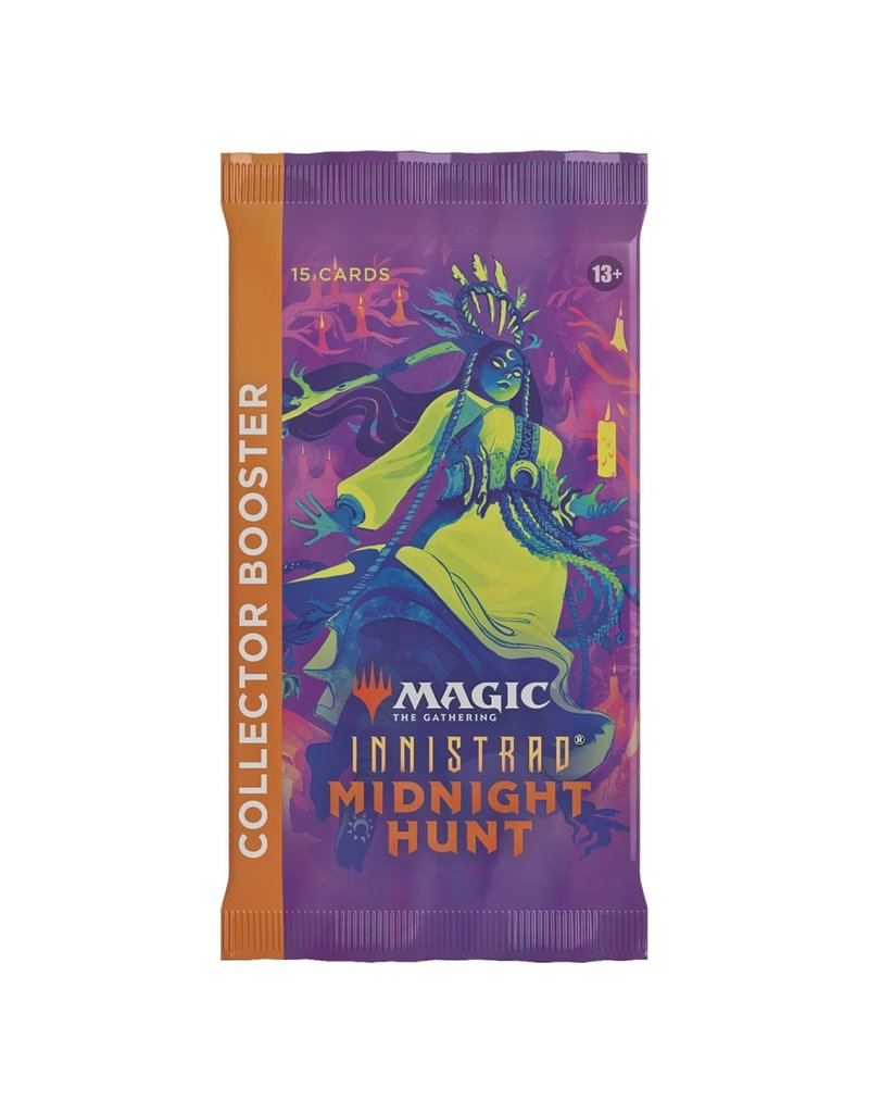 Magic The Gathering Innistrad: Midnight Hunt Collector's Booster Pack MTG