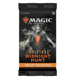 Magic The Gathering Innistrad: Midnight Hunt Draft Booster Pack MTG