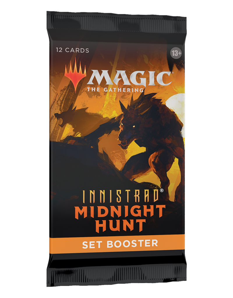 Magic The Gathering Innistrad: Midnight Hunt Set Booster Pack MTG