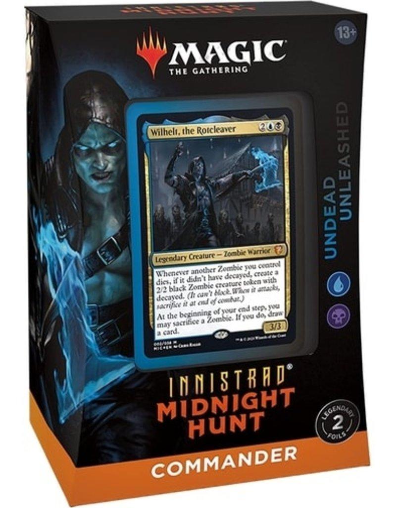 Magic The Gathering Innistrad: Midnight Hunt Commander Deck - Undead Unleashed MTG