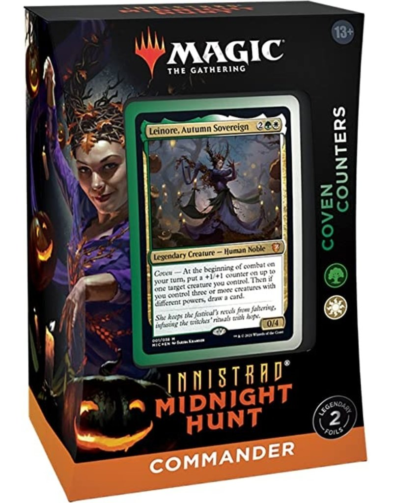 Magic The Gathering Innistrad: Midnight Hunt Commander Deck - Coven Counters MTG