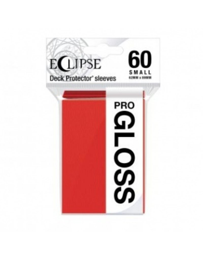 Ultra Pro Eclipse Small Gloss Sleeves - Apple Red Ultra Pro