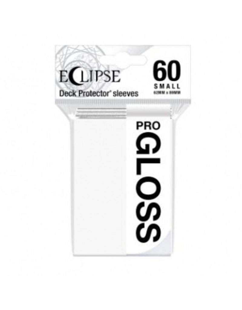 Ultra Pro Eclipse Small Gloss Sleeves - Arctic White Ultra Pro