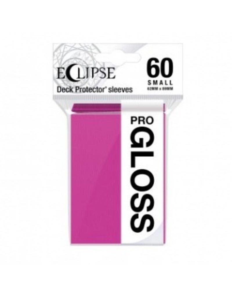 Ultra Pro Eclipse Small Gloss Sleeves - Hot Pink Ultra Pro