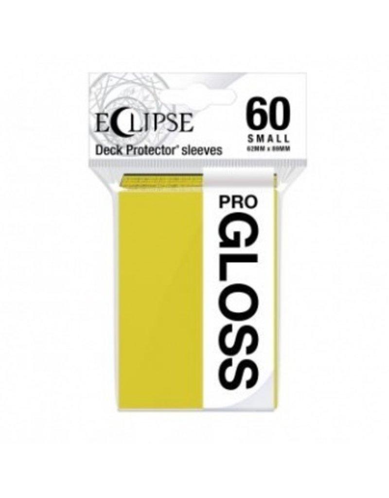 Ultra Pro Eclipse Small Gloss Sleeves - Lemon Yellow Ultra Pro