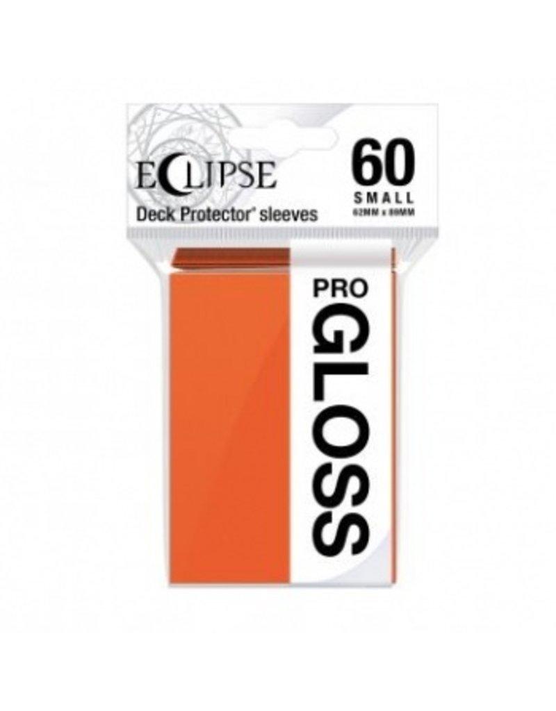 Ultra Pro Eclipse Small Gloss Sleeves - Pumpkin Orange Ultra Pro