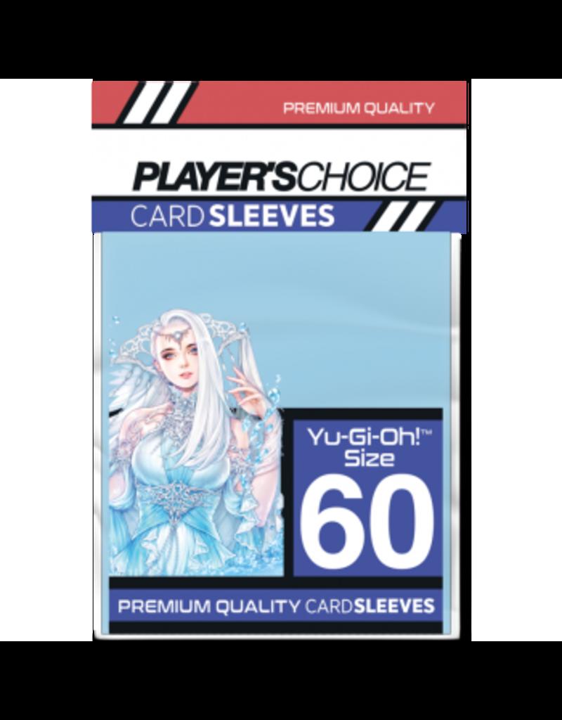 Player's Choice Premium Yu-Gi-Oh! Sized Card Sleeves - Powder Blue (60 Sleeves)