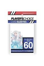 Player's Choice Premium Yu-Gi-Oh! Sized Card Sleeves - White (60 Sleeves)