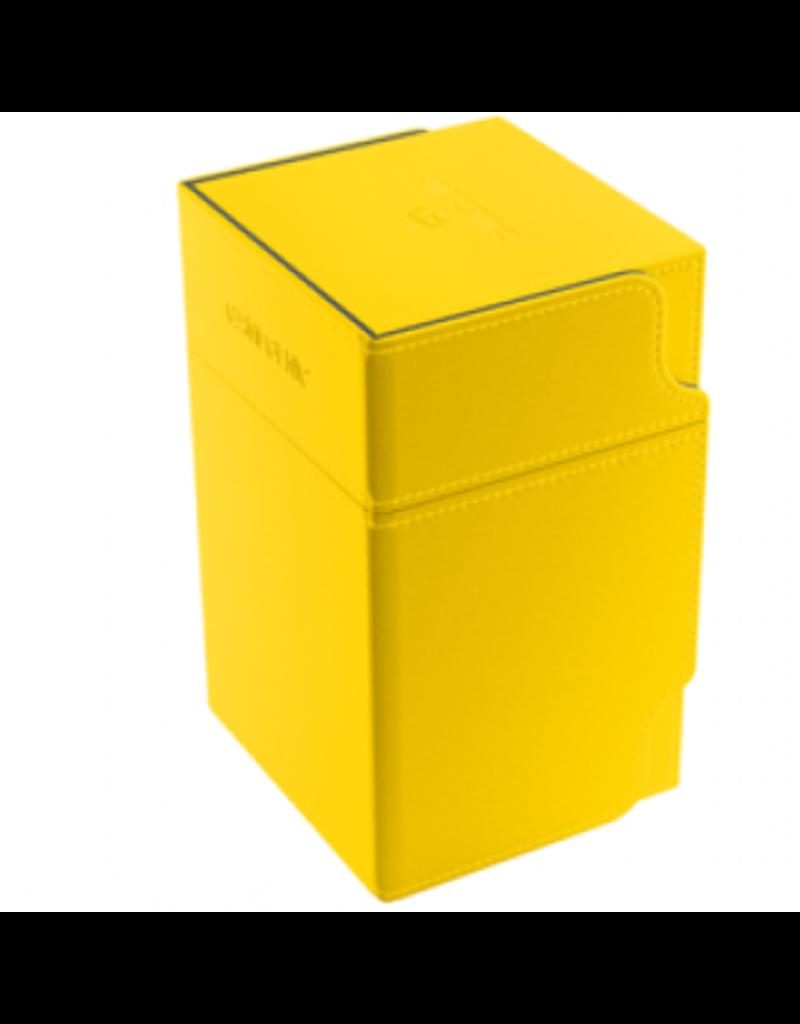 Gamegenic Gamegenic Watchtower 100+ Deck Box (Yellow)