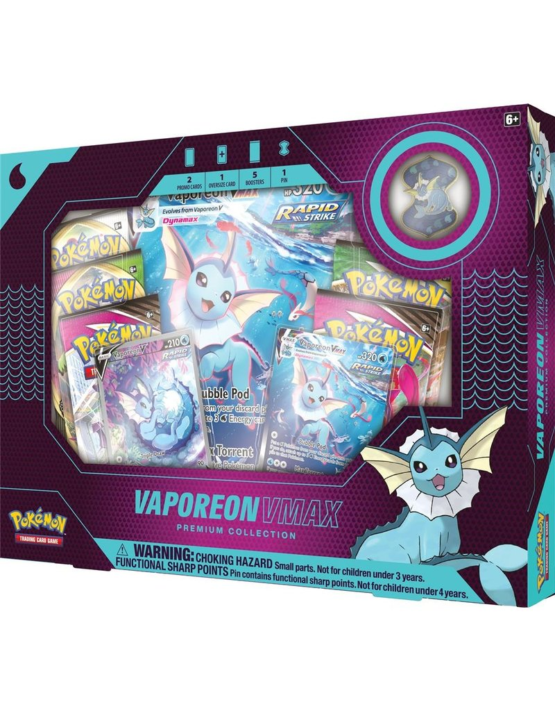 The Pokémon Company Eevee Evolutions Vmax Premium Collection Vaporeon