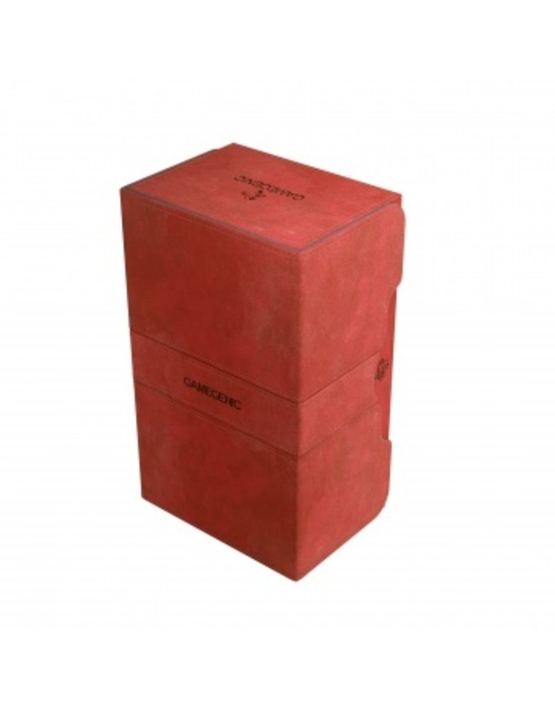 Gamegenic Gamegenic Stronghold 200+ Deck Box (Red)