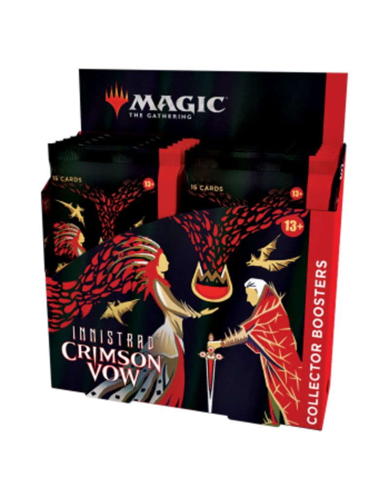 Magic The Gathering Innistrad: Crimson Vow Collector's Booster Box MTG