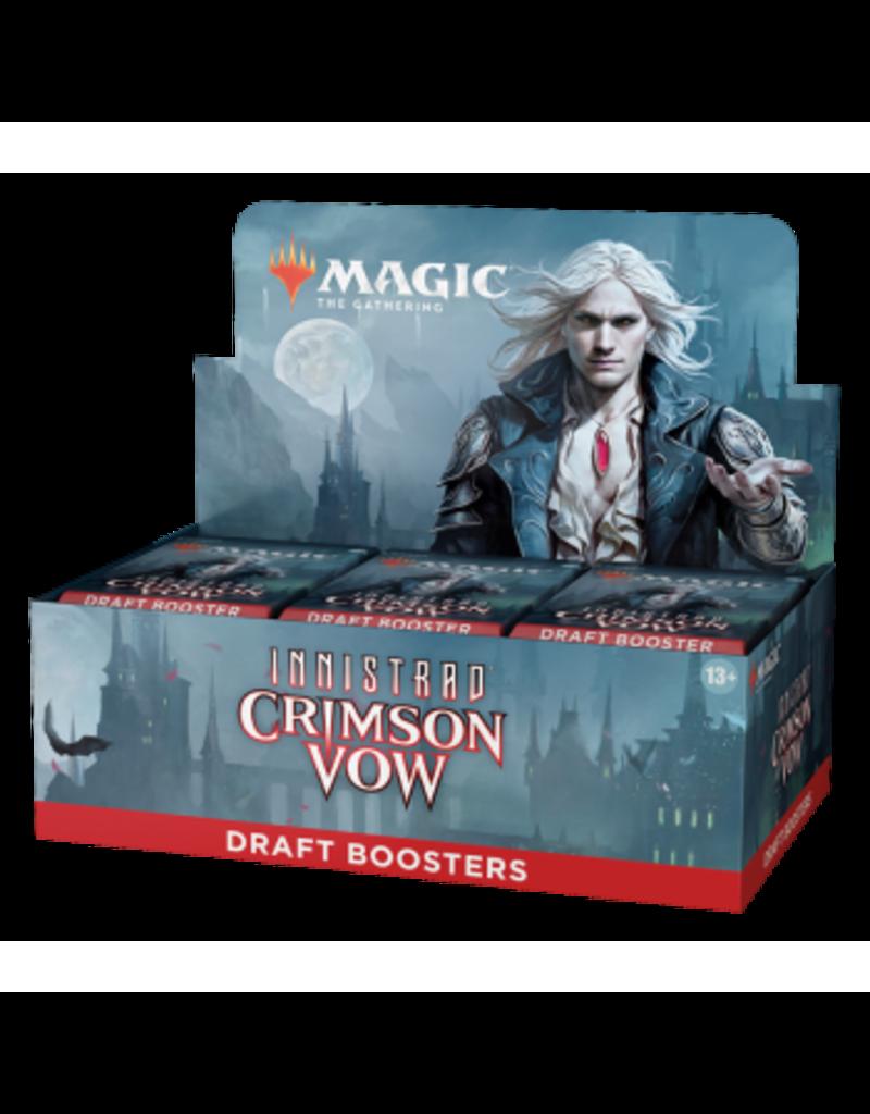 Magic The Gathering Innistrad: Crimson Vow Draft Booster Box MTG