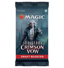 Magic The Gathering Innistrad: Crimson Vow Draft Booster Pack MTG
