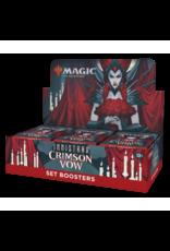 Magic The Gathering Innistrad: Crimson Vow Set Booster Box MTG