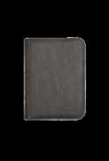 Ultra Pro 4-Pocket Zippered Premium Pro Binder Suede Collection - Jet Ultra Pro