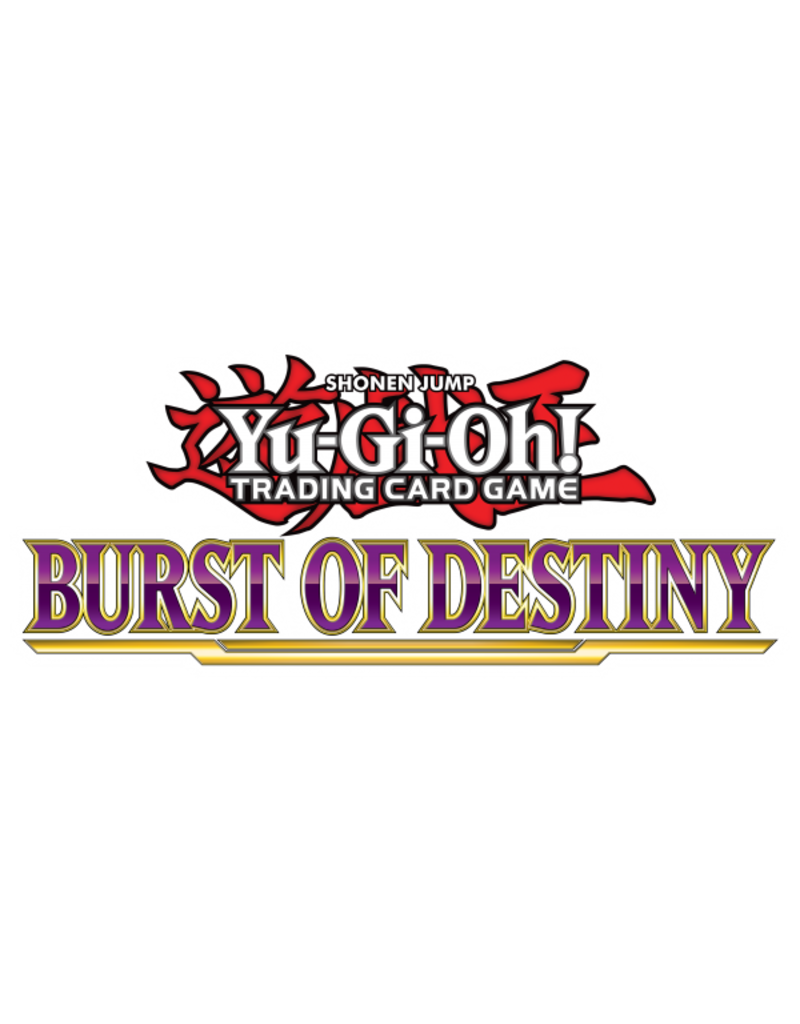 Yu-Gi-Oh! Yu-Gi-Oh! Sneak Peek Burst of Destiny Advanced Tournament
