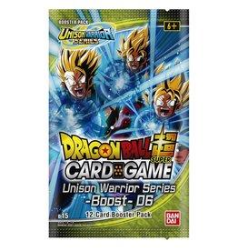 Dragon Ball Super Card Game Dragon Ball SCG Unison Warrior Series Set 6 B15 Booster Pack
