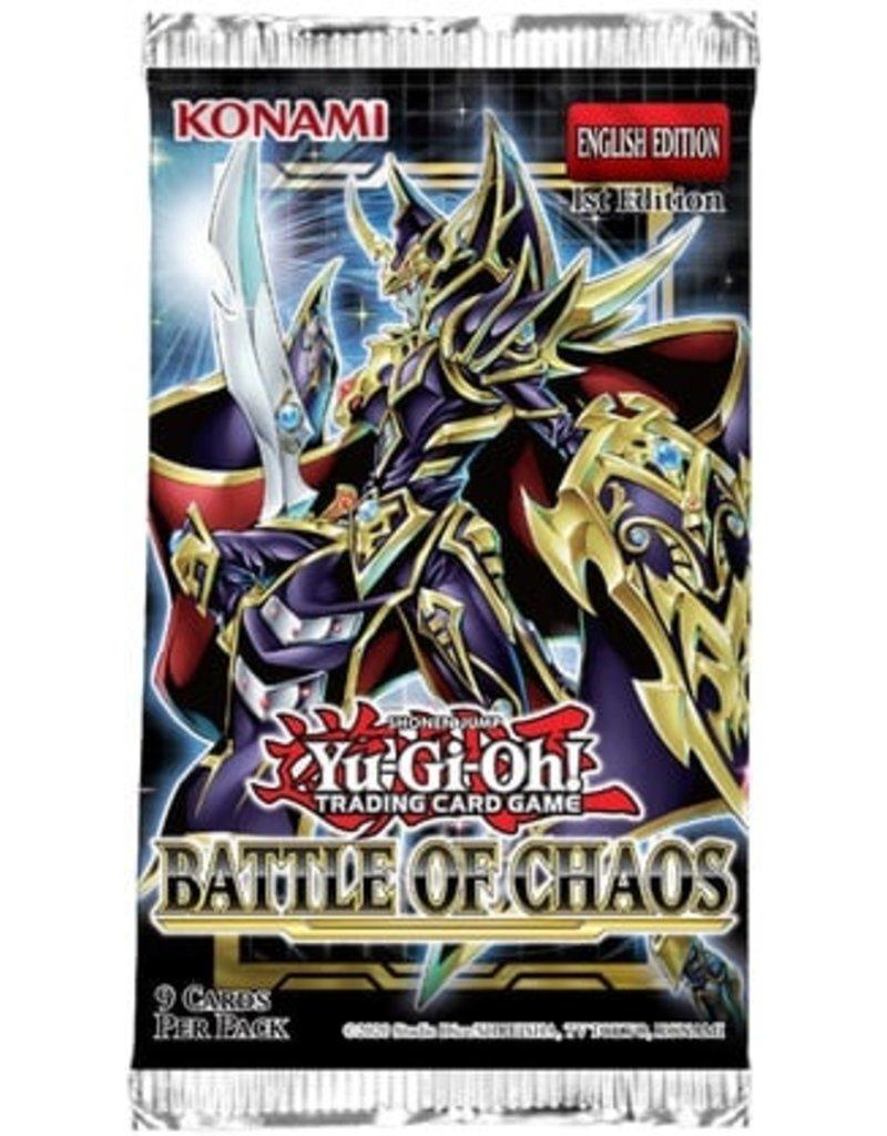 Yu-Gi-Oh! Battle Of Chaos Booster Pack Yu-Gi-Oh!