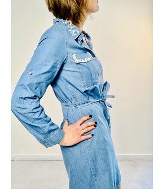 Pearled Jeans - hemdjurk