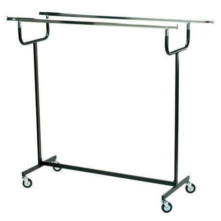 Sterk metalen dubbelrek 150 cm breed - Voor het zware transport