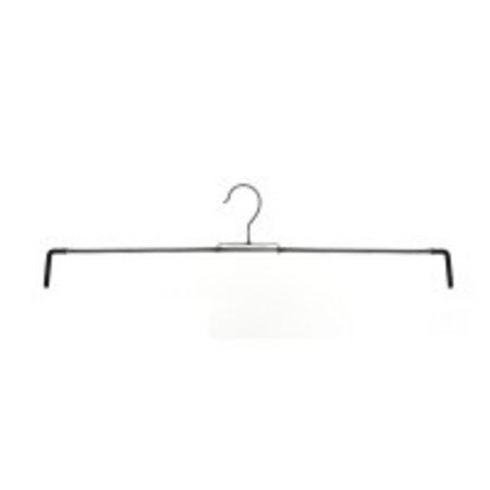 Antislip rokspanner 26-52cm met veer, zwart (8112)