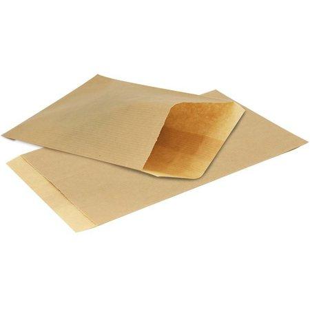 1000 x Geschenkzakjes bruin gestreept