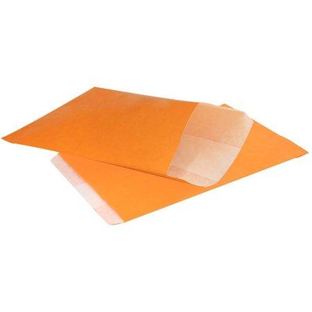 1000 x Geschenkzakjes 10 x 16 cm., All over oranje