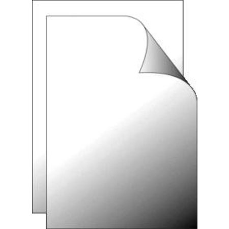 Folie schutvel ontspiegeld 700x1000mm