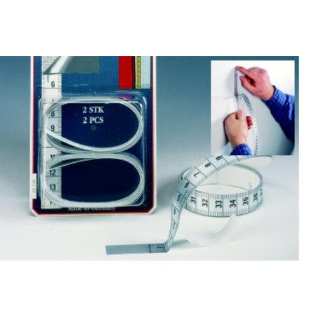 Kleermakerscentimeter zelfklevend 150cm