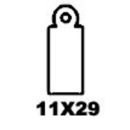 APLI - Hangetiket - 11x29mm - 1000 stuks -Wit