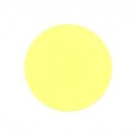 Fluorstickers 25mm geel