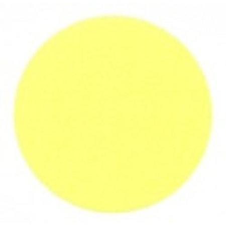 Fluorstickers 50mm geel
