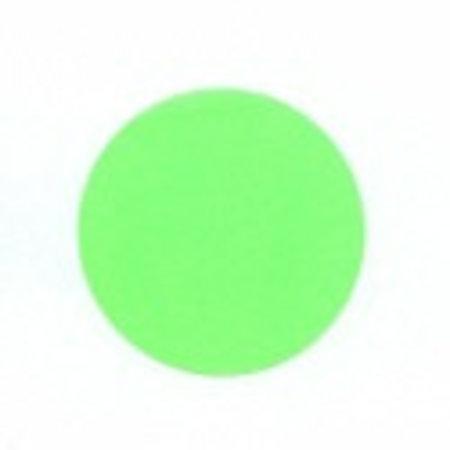 Fluorstickers 35mm groen