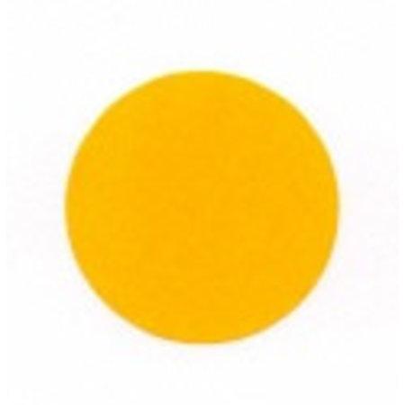 Fluorstickers 35mm oranje
