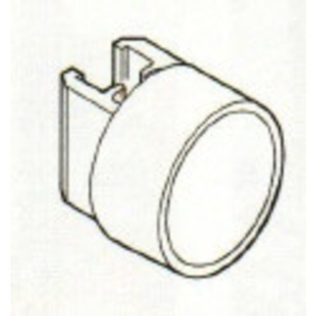 Raamhouder met ronde magneet