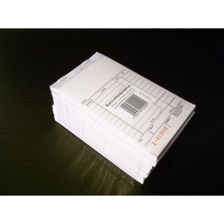 10 x Kassablokje, gerecycled papier