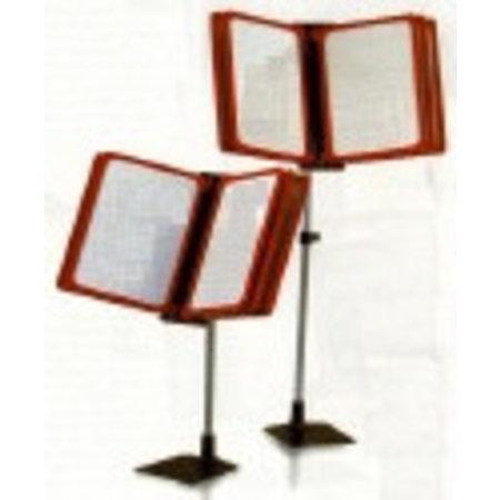 Kassa-standaard met 5 ramen Din A4 2x verstelbaar