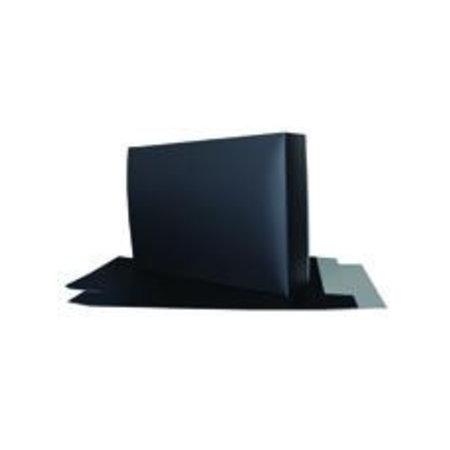 50 x Luxe overhemddoos, 26x37+7 cm zwart mat gelamineerd. VPO001