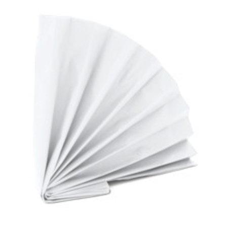 480 x Vloeipapier 50x75cm wit, 20/22 grs