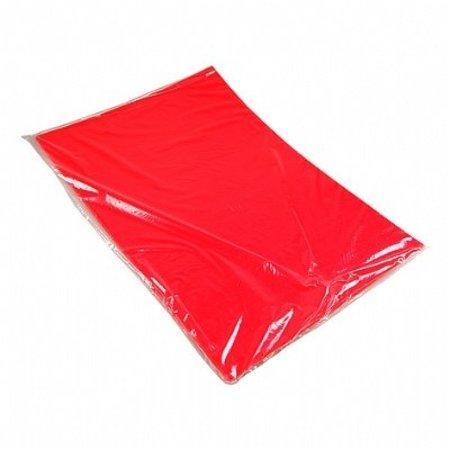 Etalagekarton 48x68 cm fluor rood 380 gr. 25 stuks