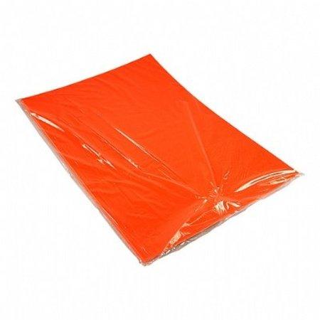 Etalagekarton 48x68 cm fluor oranje 380 gr.25 stuks