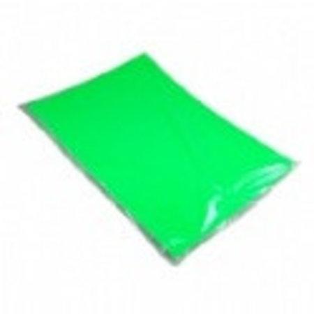 Etalagekarton 48x68 cm fluor groen 380 gr. 25 stuks