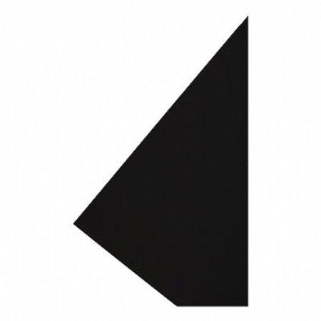 Etalagekarton 48x68 cm fluor zwart 380 gr. 25 stuks