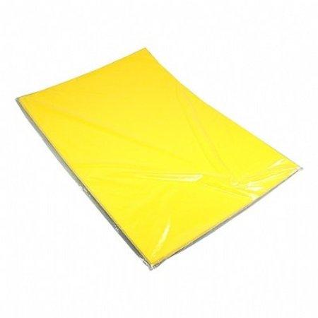 Etalagekarton 48x68 cm fluor citroengeel 380 gr. 25 stuks