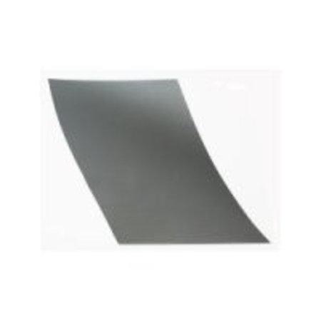 Etalagekarton 48x68 cm fluor zilver 380 gr.25 stuks