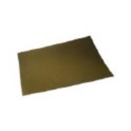 Etalagekarton 48x68 cm fluor goud 380 gr.25 stuks