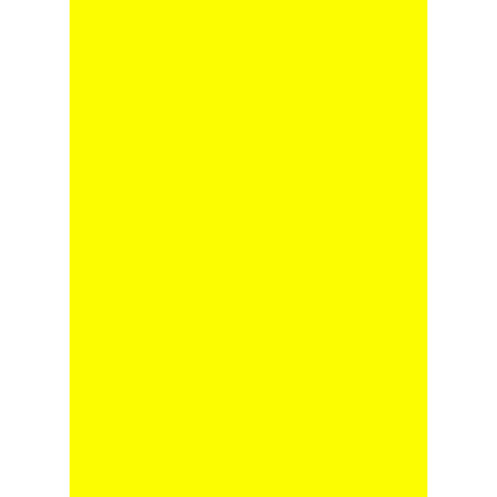 Prijskaartkarton fluor geel 4x6 cm 100 stuks