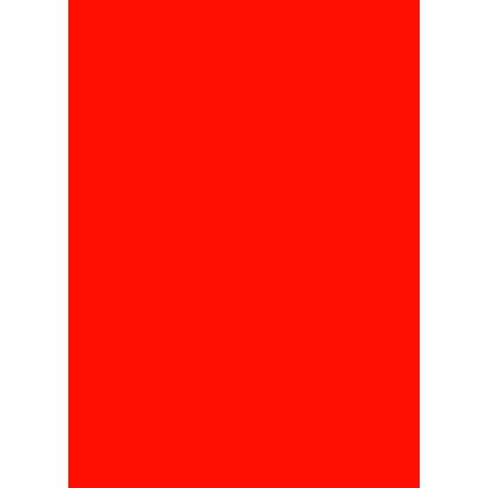 Prijskaartkarton fluor rood 6x8 cm 100 stuks
